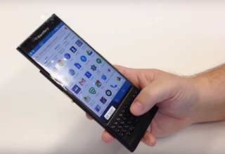 BlackBerry Venice Android phone caught on video for first time, see it here