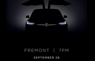 It's official: Tesla schedules September event to launch Model X crossover