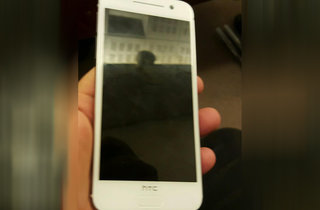 This is what the HTC One A9 looks like head-on, and it comes in white