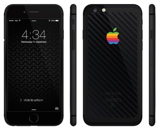 This custom iPhone 6S belongs to a new luxury series from Feld & Volk and Colette