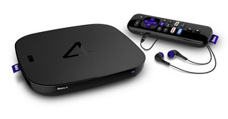 This is the Roku 4, bringing 4K UHD and a remote that can't be lost