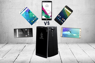 LG V10 vs Galaxy S6 edge Plus, Xperia Z5 Premium, Nexus 6P, Moto X Style and LG G4: What's the difference?