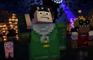 Watch first trailer for episode one of Minecraft: Story Mode, coming this month