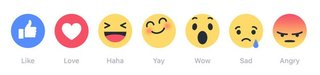 facebook to test these six emoji instead of an actual dislike button image 2