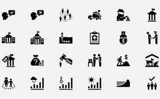 Access a vast library of custom icons for under £26