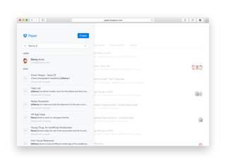 dropbox paper is a google docs like text editor that doubles as a chat room image 3