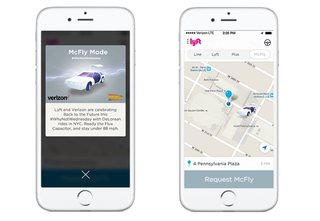 Lyft to offer NYC customers free DeLorean rides on Back to the Future Day