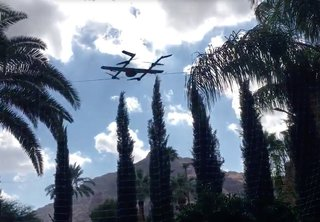 Watch Google X test air delivery with a real-life Project Wing drone