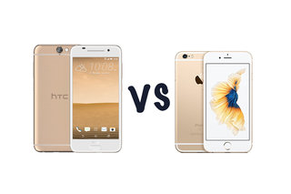 HTC One A9 vs Apple iPhone 6S: What's the difference?