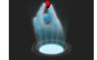 Real tractor beam shown off moving objects through the air