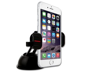 Stay safe with hands-free ExoMount Touch car mount
