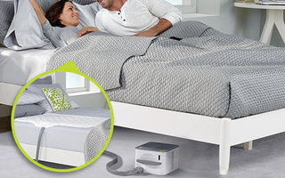Nuyu Sleep System Heats And Cool With Your Body For The