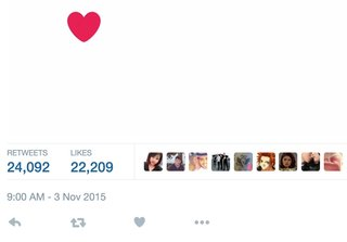 Twitter's favourite button: Where did it go and what's the new heart button?