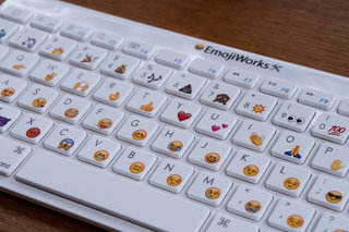 You can now pre-order a Bluetooth physical keyboard just for typing emoji