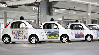 Google's self-driving cars just got a fresh paint job, see the new looks here