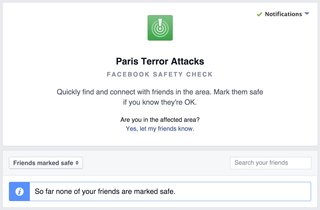 Facebook Safety Check tool helps you find friends near Paris terror attacks