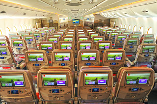 wow emirates first class passengers get 32 inch screens but don t worry economy gets bigger screens too image 3
