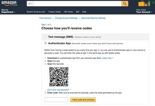 amazon adds two step verification here s how to enable it image 2
