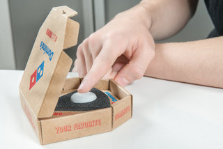 This Domino's button lets you order pizza in the UK literally with the touch of a button