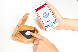 this domino s button lets you order pizza in the uk literally with the touch of a button image 12