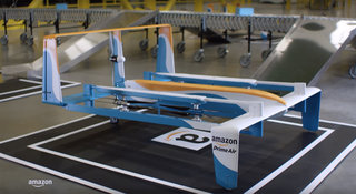 Amazon Prime Air drone delivery is ready to go, shown off by Jeremy Clarkson