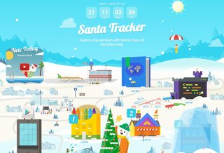 New Google Santa Tracker offers fun activities each day leading up to Christmas
