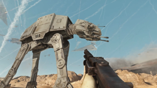 This is the best Star Wars movie you'll see this year, Battlefront running in 4K 60fps