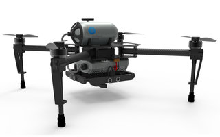 Hydrogen fuel cells let drones fly for hours rather than minutes