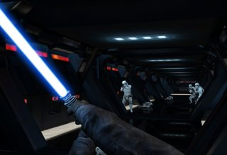 Fight stormtroopers in this Google game that turns your phone into a lightsaber