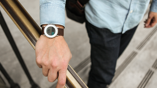 Pebble made a Health app for its Time series of smartwatches