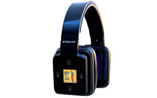 Streamz smart headphones run Android to play high def audio wirelessly, no phone needed