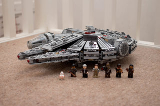 Lego Star Wars Millennium Falcon Review: Chewie, we're home