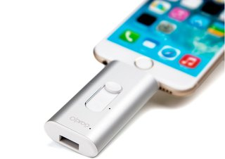 Add 32GB of space to your iOS device with iSafe Drive Lite