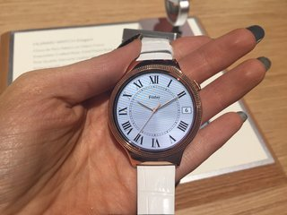 Huawei Watch Jewel and Elegant: Huawei's Android Wear watch just got a lot glitzier