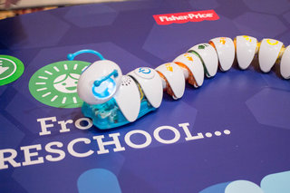 Code-A-Pillar: The pre-school coding caterpillar