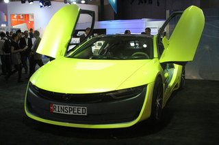Rinspeed Etos concept preview: BMW i8 gets added Swiss smarts