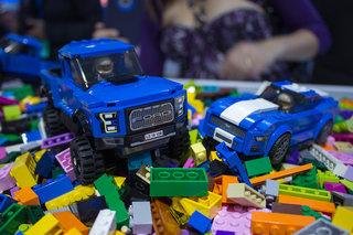 Ford Lego cars are here: Mustang and F-150 Raptor in pictures