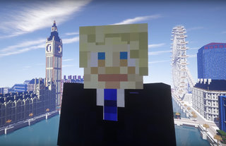 £1.2 million Games London initiative launched by a Minecraft Boris Johnson