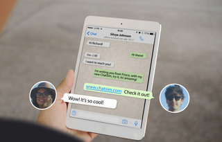ChatSim gives you unlimited messages worldwide for just £8 a year, including WhatsApp