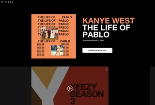 Kanye is trying to make Tidal a thing: New album will 'never' be on Apple