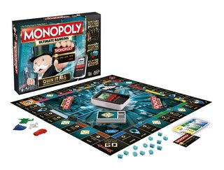 This latest edition of Monopoly ditches the cash for cards and a scanner