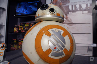 Get your Star Wars loving hands on a life-sized BB-8 that responds to voice commands