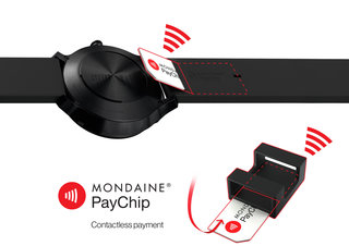 Mondaine adds PayChip contactless payments to new Swiss smartwatch