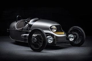 Morgan EV3 is a steampunk dream, plus it's electric