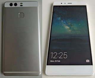 Huawei P9 leak reveals phone's body and dual-camera system