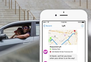 Lyft now lets you hail a car from within FB Messenger, Slack, and more
