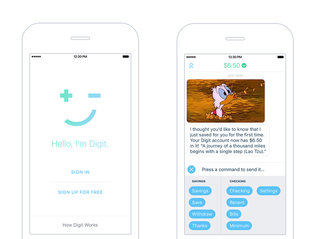 Digit's savings service now has an iOS app that sets your money aside