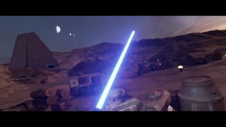Experience Star Wars in lightsaber swinging VR soon on the HTC Vive, trailer arrives