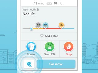 Waze's new Planned Drives feature tells you the best time to leave for a trip