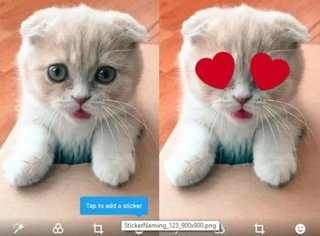 Twitter is testing colourful photo stickers so that you'll tweet more